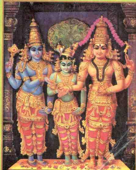 Divine Marriage of Minakshi
